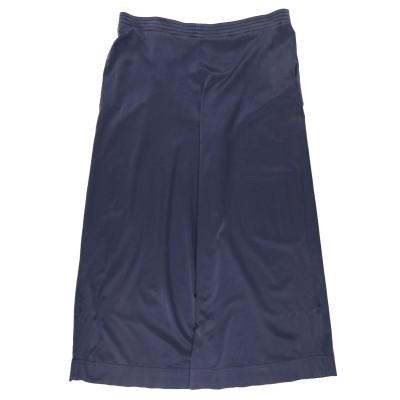 ジジル JIJIL パンツ ダークブルー 42 コットン 58% / シルク 35% / ポリウレタン 7% パンツ