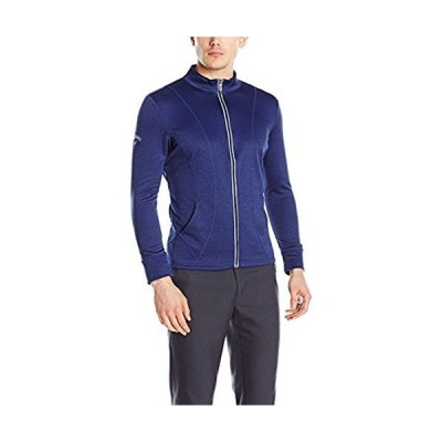 Callaway Women's Golf Full Zip Long Sleeve Fit Fleece Jacket, Blueprint Heather, 3X-Large【並行輸入品】