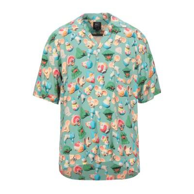 BRAIN DEAD シャツ ライトグリーン XL レーヨン 100% シャツ