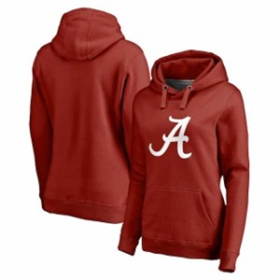 Fanatics Branded ファナティクス ブランド スポーツ用品  Fanatics Branded Alabama Crimson Tide Womens Crimson Primary Logo Pullove