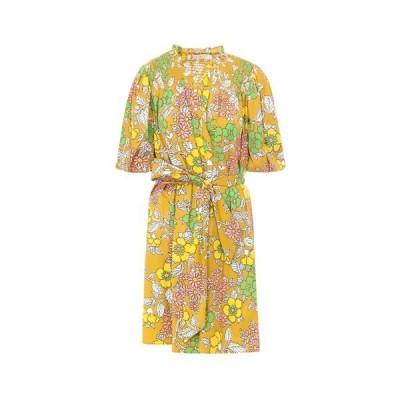 トリーバーチ レディース ワンピース トップス Tory Burch Floral Printed Wrap Dress -