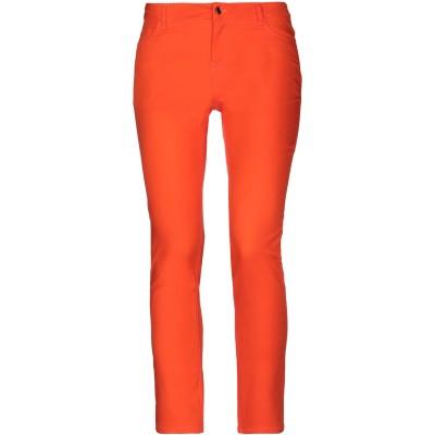 LANACAPRINA パンツ オレンジ 42 コットン 65% / ナイロン 32% / ポリウレタン 3% パンツ