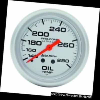 タコメーター オートメーター4441ウルトラライトメカニカルオイル温度計、2-5 / 8  Auto Meter 4441 U