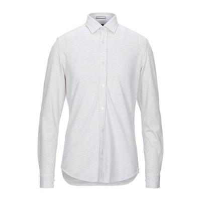 BOSS HUGO BOSS ヒューゴ ボス 無地シャツ ファッション  メンズファッション  トップス  シャツ、カジュアルシャツ  長袖 ライトグレー