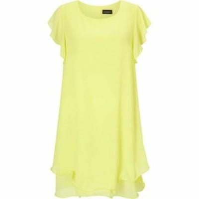 ジュームズ レイクランド James Lakeland レディース ワンピース ワンピース・ドレス RUFFLE SLEEVE DRESS Yellow