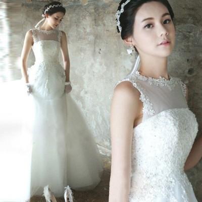 ウエディングドレス 安い 二次会 ウェディングドレス 結婚式 プリンセスライン エンパイア 花嫁 プリンセス 披露宴 ロングドレス ブライダル 白 wedding dress
