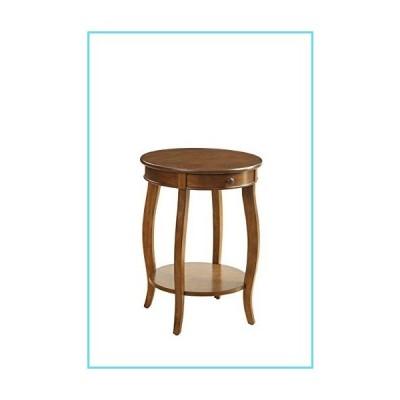 ACME Alysa End Table - 82814 - Walnut 141[並行輸入]【並行輸入品】