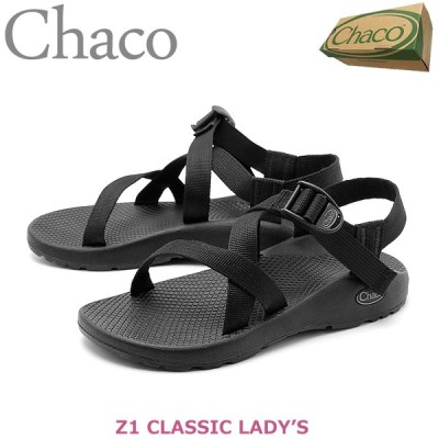チャコ サンダル レディース クラシック Z1 CHACO J105414 ブラック 黒 アウトドア スポーツサンダル スポサン カジュアル 定番 新生活