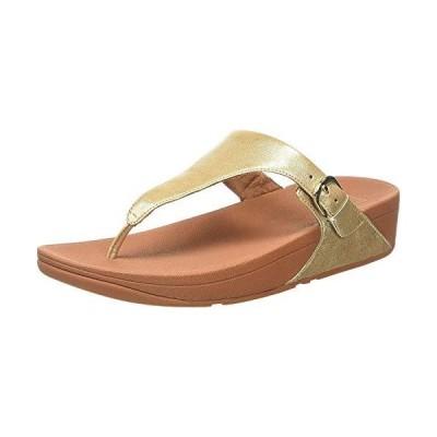 フィットフロップ コンフォートサンダル Skinny Toe-Thong Sandals-Leather レディース Pale Gold 2