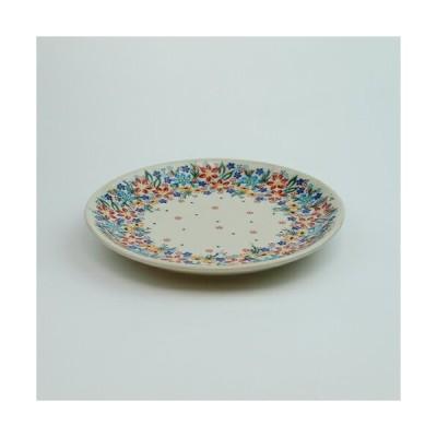 平皿φ19cm[V132-U422]【ポーリッシュポタリー[ポーランド食器・陶器]】