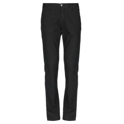 LIU •JO MAN パンツ ブラック 28 リネン 50% / コットン 48% / ポリウレタン 2% パンツ