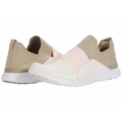 Athletic Propulsion Labs (APL) レディース 女性用 シューズ 靴 スニーカー 運動靴 Techloom Bliss Taupe/Nude/Pristine【送料無料】