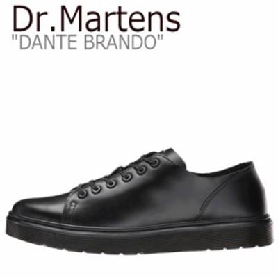 ドクターマーチン スニーカー Dr.Martens メンズ レディース DANTE BRANDO ダンテ ブランド BLACK ブラック 16736001 シューズ