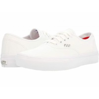 Vans バンズ メンズ 男性用 シューズ 靴 スニーカー 運動靴 Skate Authentic(TM) True White【送料無料】