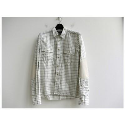 MIHARA YASUHIRO ミハラヤスヒロ 91103117 Big Stitch Long Sleeve Shirts ビッグスティッチ長袖シャツ ホワイト miharayasuhiro