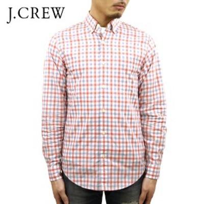ジェイクルー シャツ メンズ 正規品 J.CREW 長袖シャツ ボタンダウンシャツ  ホワイトピンク  父の日 ギフト プレゼント