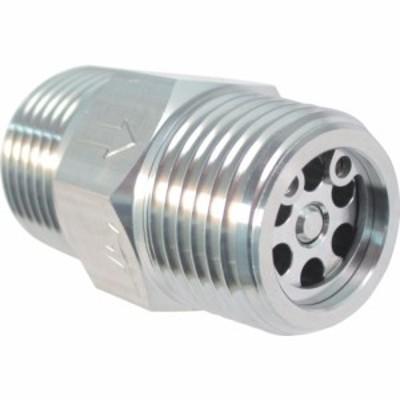 ASOH エーチェック SUS製チェックバルブ 外ネジ×外ネジ型 R1/4 (1個) 品番:AT-8022