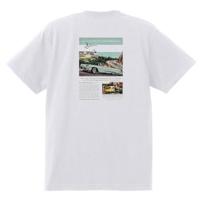アドバタイジング フォード 861 白 Tシャツ 黒地へ変更可 1958 サンダーバード サンライナー ギャラクシー エドセル フェアレーン f100
