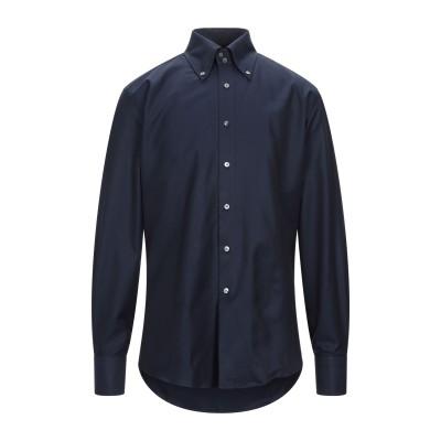 カナーリ CANALI シャツ ダークブルー 39 コットン 100% シャツ