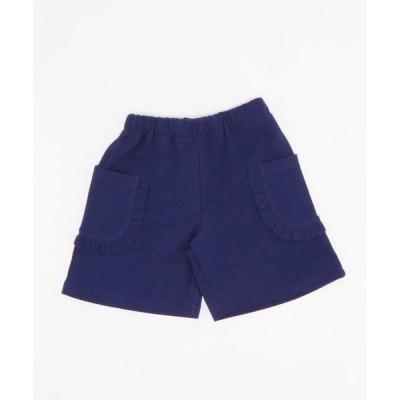 パンツ ピケニットキュロットスカート