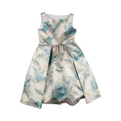 COLORICHIARI ワンピース&ドレス ベージュ 12 ポリエステル 87% / 金属 13% ワンピース&ドレス