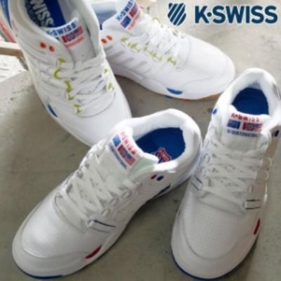 送料無料 メンズ スニーカー テニスシューズ ローカット ケースイス K-SWISS 05823 SI-18 インターナショナル ヘリテージ ダッドシューズ