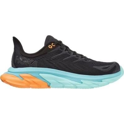 ホカ オネオネ HOKA ONE ONE メンズ ランニング・ウォーキング シューズ・靴 Clifton Edge Running Shoe Black/Aquarelle