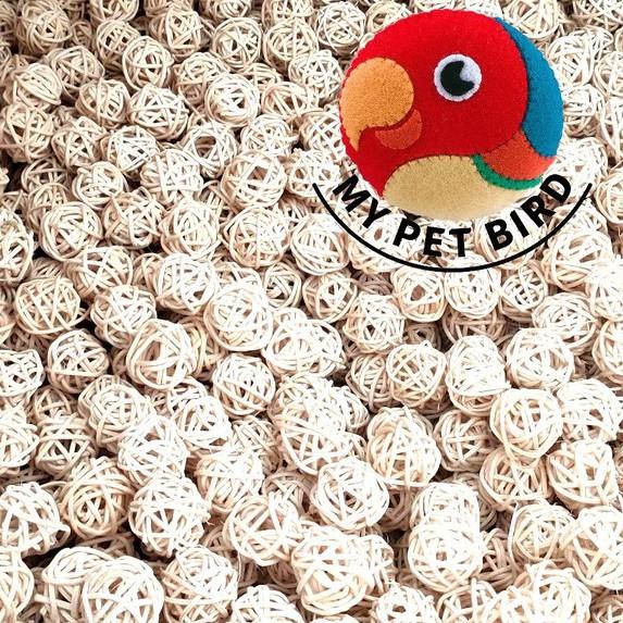 MY PET BIRD 週年慶回饋價/藤球-單顆物件 LK1