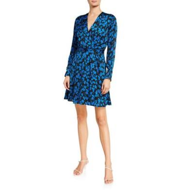 エキプモン レディース ワンピース トップス Collie Floral-Print Long-Sleeve Dress