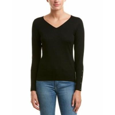 ファッション トップス Unwine Embellished Sweater M Black