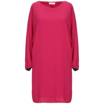 ANNIE P. ミニワンピース&ドレス ガーネット 44 ポリエステル 100% ミニワンピース&ドレス