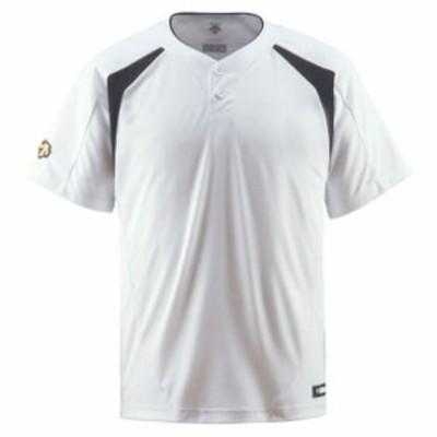 コンビネーションTシャツ【DESCENTE】デサントヤキュウソフトハンソデTシャツ(DB205-SWBK)