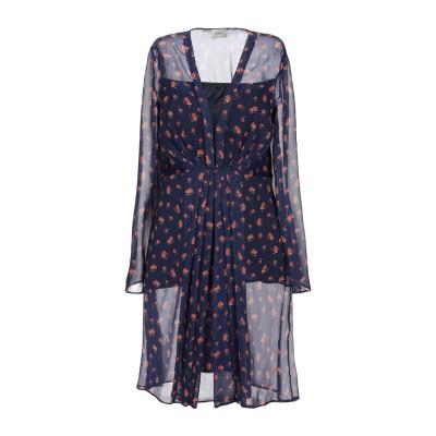 メルシー ..,MERCI ミニワンピース&ドレス ダークブルー 38 ポリエステル 100% ミニワンピース&ドレス