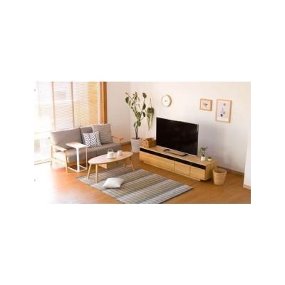 予約販売次回入荷6月18日入荷 TVボード 幅180cm (ライトブラウン) 大型配送(1)