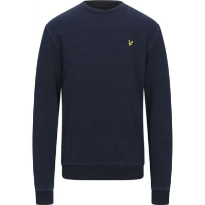 ライル アンド スコット LYLE & SCOTT メンズ スウェット・トレーナー トップス Sweatshirt Dark blue