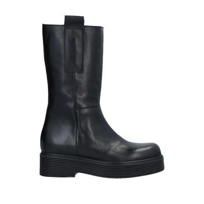 DIVINE FOLLIE ブーツ ブラック 35 牛革(カーフ) ブーツ