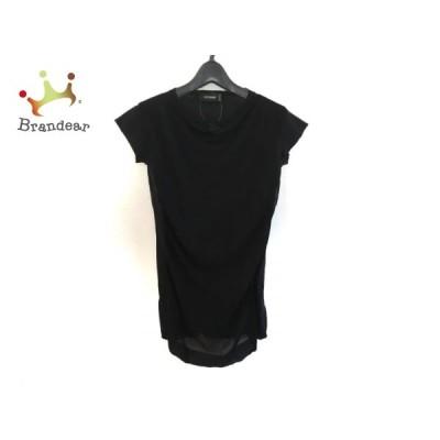 チヴィディーニ CIVIDINI 半袖セーター サイズ38 S レディース - 黒 新着 20201222