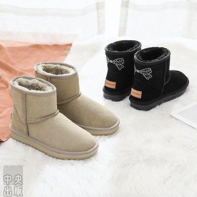 本革 ンブーツ ショートブーツ レディース ショート丈 秋冬新作 冬靴 裏起毛   暖かい 防滑 軽量