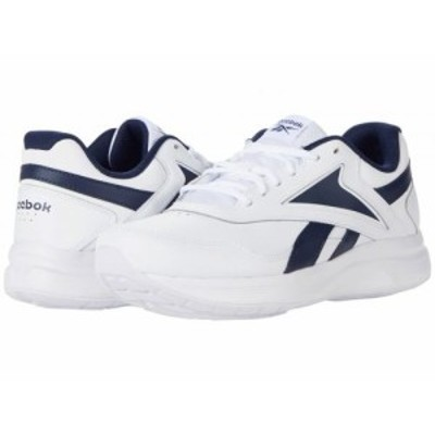 Reebok リーボック メンズ 男性用 シューズ 靴 スニーカー 運動靴 Walk Ultra 7 DMX Max White/Collegiate Navy/Collegiate【送料無料】