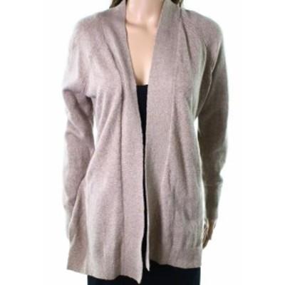 ファッション トップス Loft NEW Beige Womens Size Small S Open Front Knit Cardigan Sweater