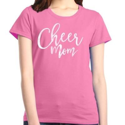 レディース 衣類 トップス Shop4Ever Women's Cheer Mom Cheerleader Graphic T-Shirt Tシャツ