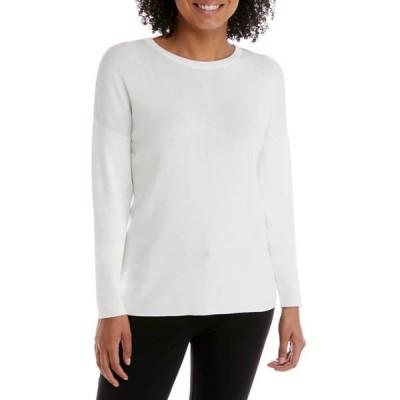 ザ・リミティッド レディース ニット・セーター アウター Petite Drop Shoulder Crew Sweater