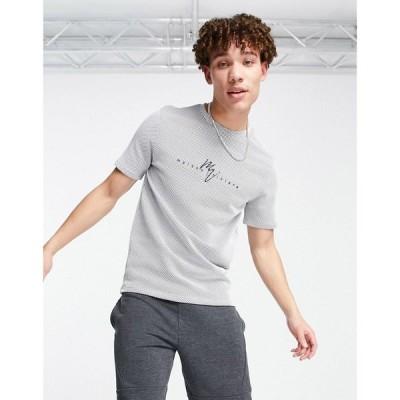 リバーアイランド River Island メンズ Tシャツ トップス Maison t-shirt in blue ブルー
