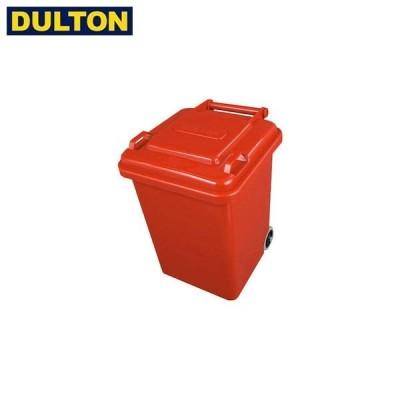 DULTON プラスチック トラッシュカン 18L レッド (品番:100-195RD) ダルトン インダストリアル アメリカン ヴィンテージ 男前