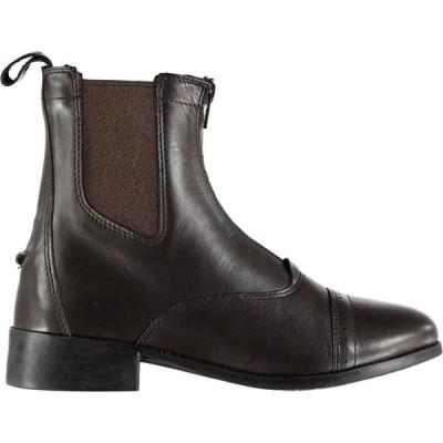 オニール Dublin レディース ブーツ シューズ・靴 Elevation Ii Zip Paddock Boots Brown