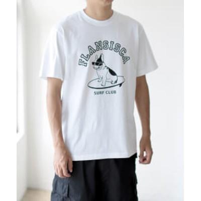 【アウトレット】FLANSISCA / プリント Tシャツ ①