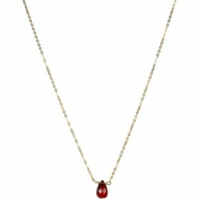 ナシェル NASHELLE レディース ネックレス チョーカー ジュエリー・アクセサリー January Synthetic Birthstone Choker Necklace Gold