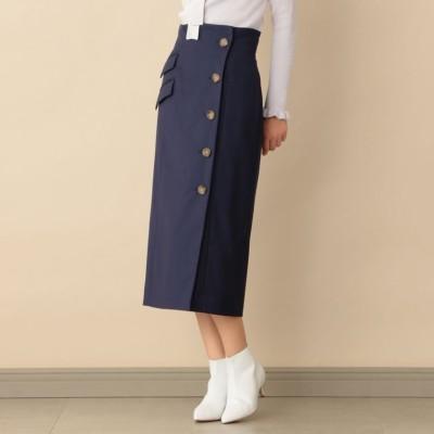 タイト巻きスカート