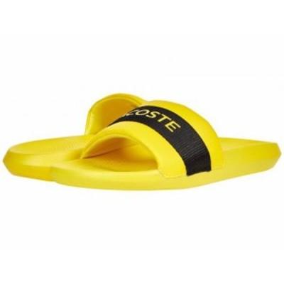 Lacoste ラコステ メンズ 男性用 シューズ 靴 サンダル Croco Slide 0721 1 Yellow/Black【送料無料】