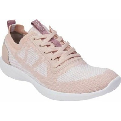 バイオニック レディース スニーカー シューズ Women's Vionic Lenora Lace Up Sneaker Blush Engineered Mesh
